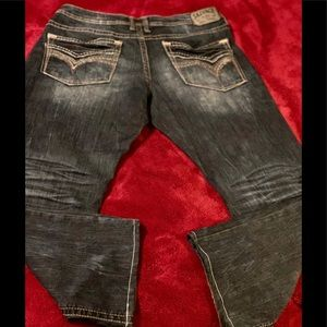   Size 38 Regular Savage Classic Fit Men's Jeans  
